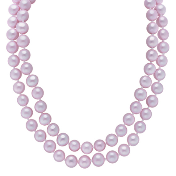 "6mm Lavender Cultured Freshwater Pearl Strand (65"")"