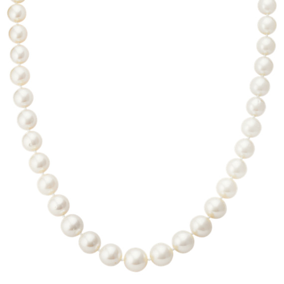 7-11mm Graduated Cultured Freshwater Pearl Strand (18)
