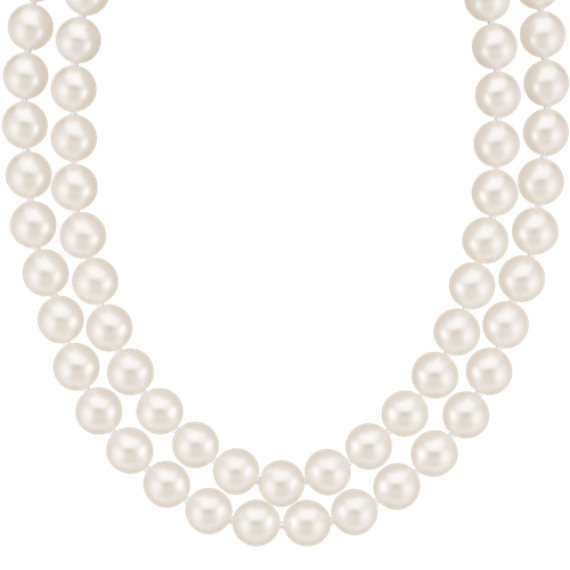 "7.5mm Cultured Freshwater Pearl Strand (19"")"
