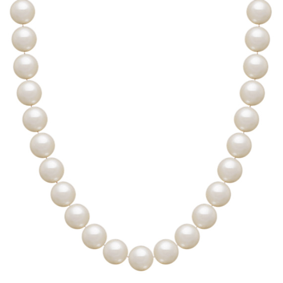 "7mm Cultured Akoya Pearl Necklace (18"")"