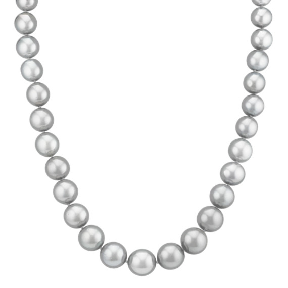 8-11mm Cultured Tahitian Pearl Necklace (18)