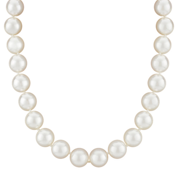 "8mm Cultured Akoya Pearl Strand (18"")"