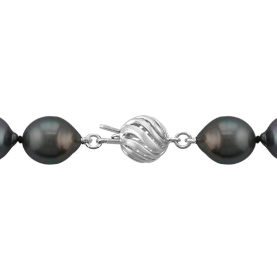 9-11mm Graduated Cultured Tahitian Pearl Strand (18)