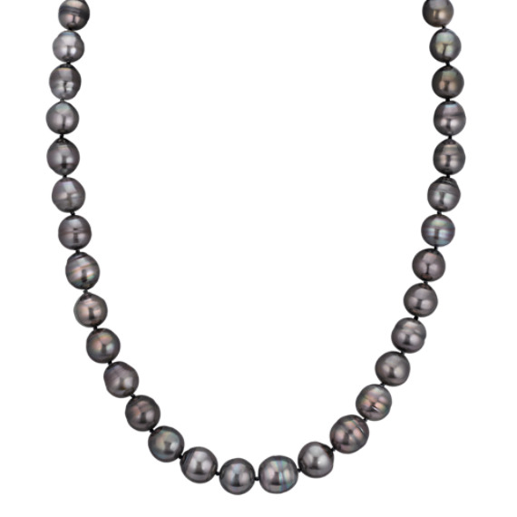 9-12mm Graduated Cultured Tahitian Pearl Strand (23)