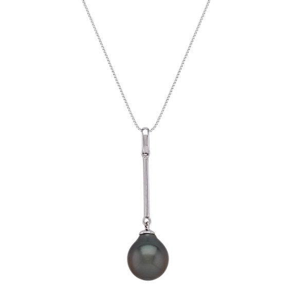 9mm Cultured Tahitian Pearl Pendant (18)