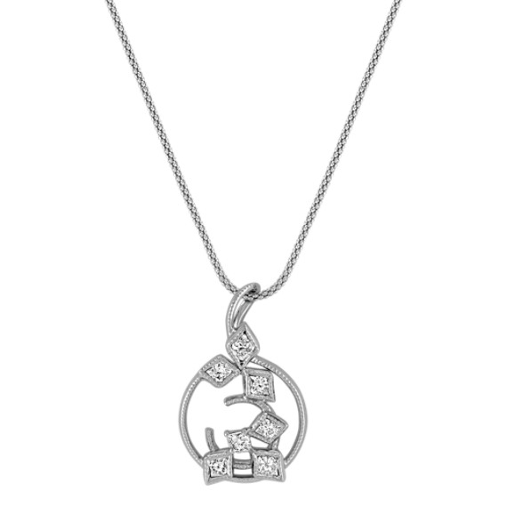 Calla Cut Diamond Pendant (22)