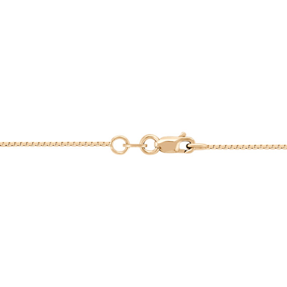 "Circle Collection Necklace in 14k Yellow Gold (18"")"