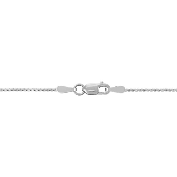 "Cross Necklace in Sterling Silver (20"")"