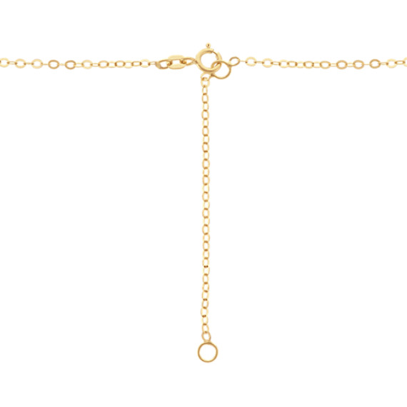 Cross Pendant in 14k Yellow Gold (18 in.)