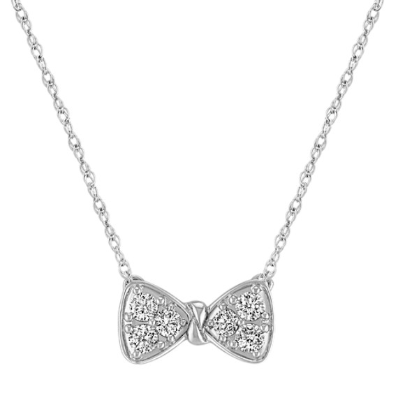 Diamond Bow Necklace (18)