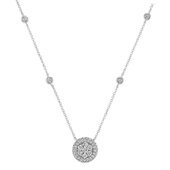Diamond Cluster Necklace (18)