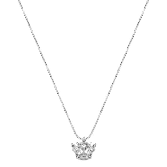 Diamond Crown Pendant (18)