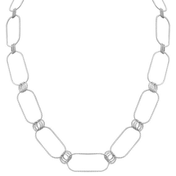 Diamond Cut Sterling Silver Necklace (36)