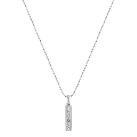 Diamond Drop Pendant (18)