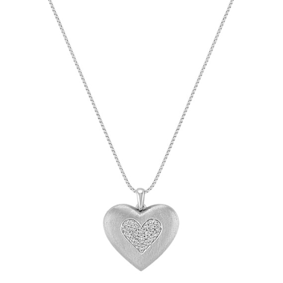 Diamond Heart Pendant (18)