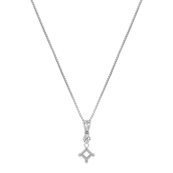Diamond Pendant with Filigree (18)