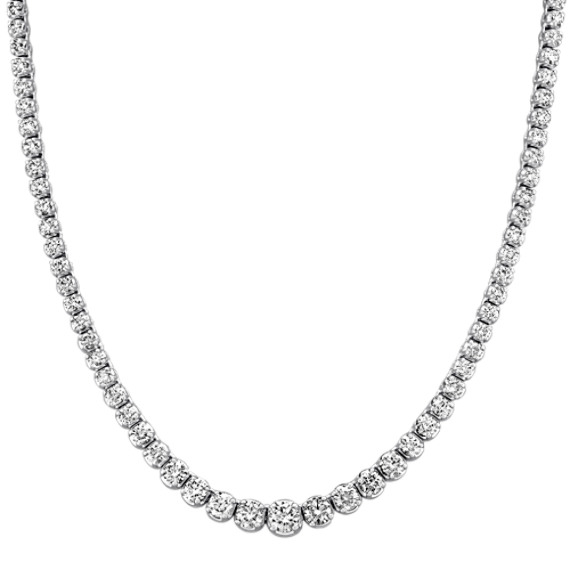 Graduated Diamond Necklace (16)