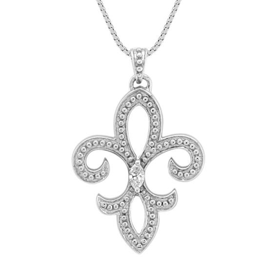 Marquise Diamond Pendant (18)