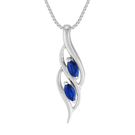 Marquise Sapphire Pendant (18)