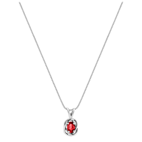 Oval Ruby Pendant (18)