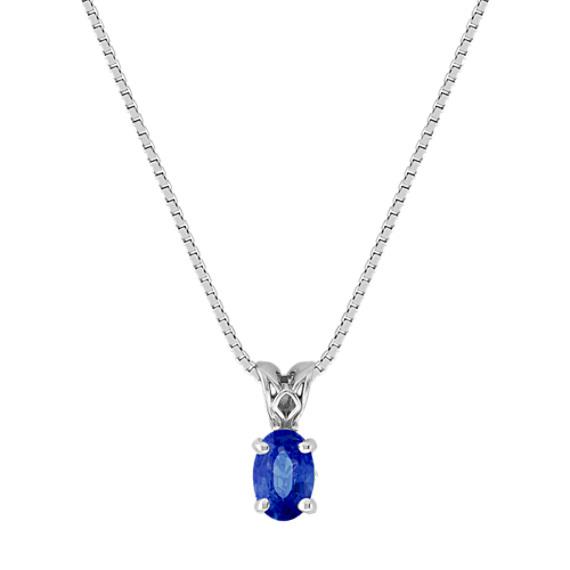Oval Sapphire Pendant (18)