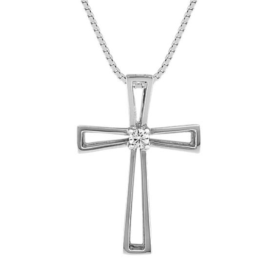 Round Diamond Cross (18)