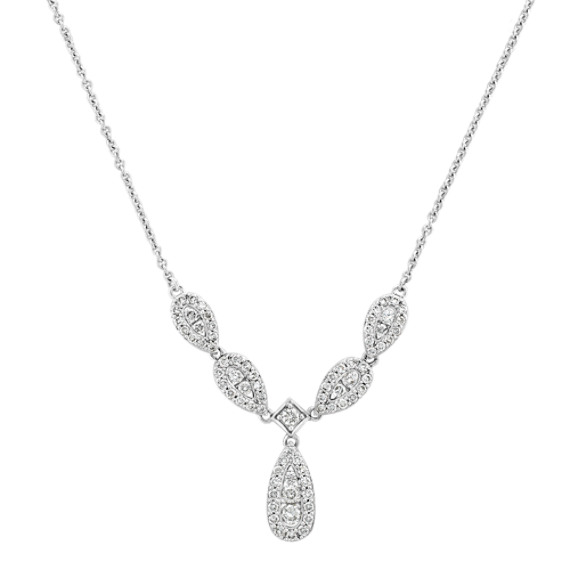 Round Diamond Necklace (18)