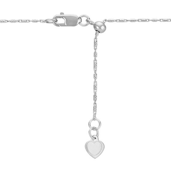 Round Diamond Pendant for Marquise Gemstone (22 in.)