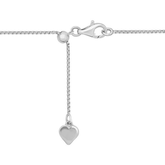 Sterling Silver Boy Oval Pendant (20)