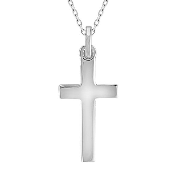 Sterling Silver Cross Pendant (18)