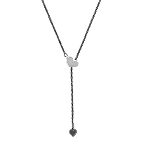 Sterling Silver Heart Necklace (20)