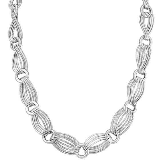 Sterling Silver Link Necklace (20)