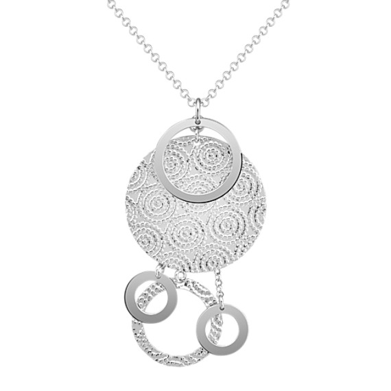 "Sterling Silver Necklace (16"")"