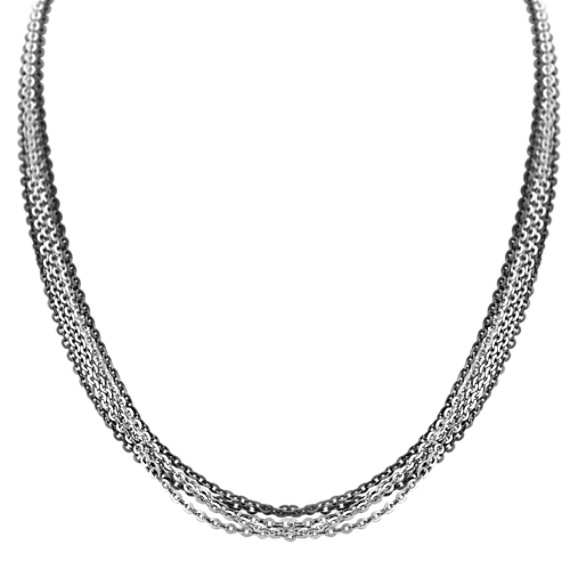 Sterling Silver Necklace (18)