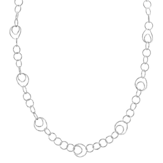 "Sterling Silver Necklace (30"")"