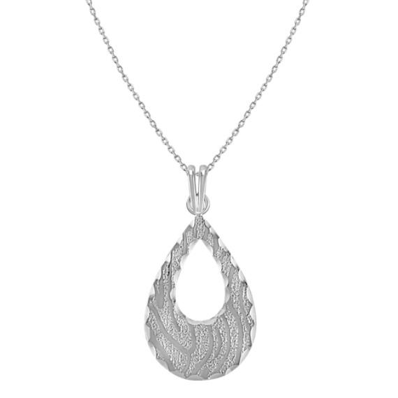 "Sterling Silver Pendant (18"")"