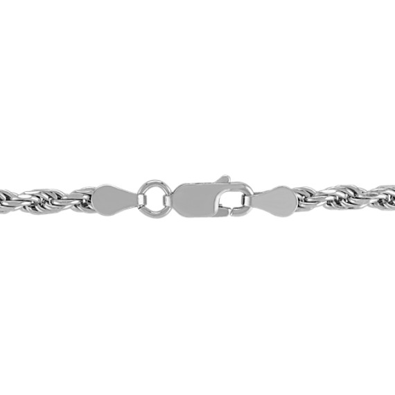 Sterling Silver Rope Necklace (24)