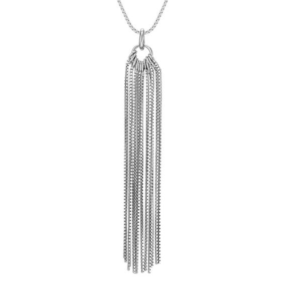Sterling Silver Tassle Pendant (18)
