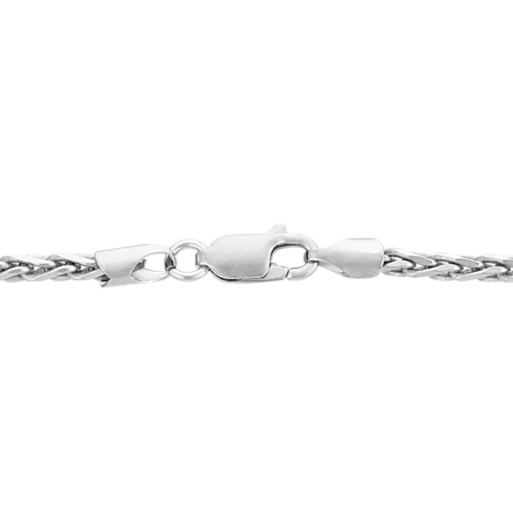 """Sterling Silver Wheat Necklace (24"""")"""
