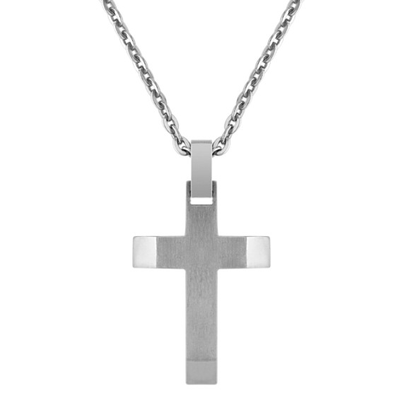 Titanium Cross Necklace (24)