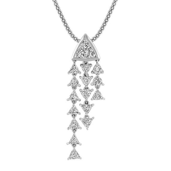 Trillion Diamond Pendant (22)