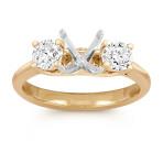 Diamond Three-Stone Engagement Ring