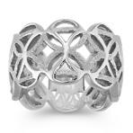 Filigree Sterling Silver Ring