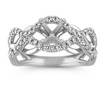 Infinity Diamond Fashion Ring