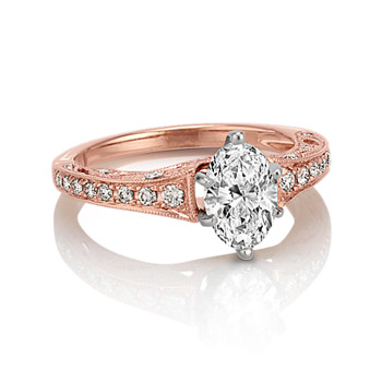 rose gold wedding rings - Rose Gold Wedding Rings For Women