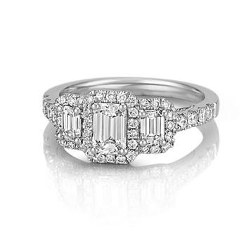 Mounted Bridal Rings