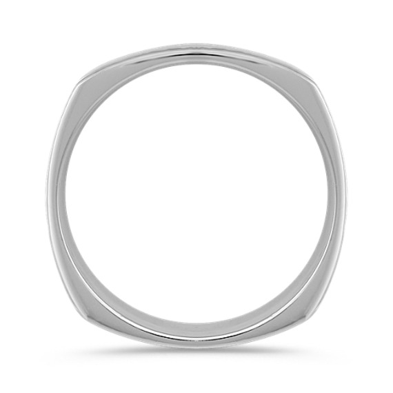 14k White Gold Ring (7mm)
