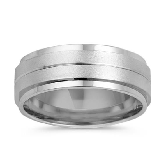 14k White Gold Ring (8mm)