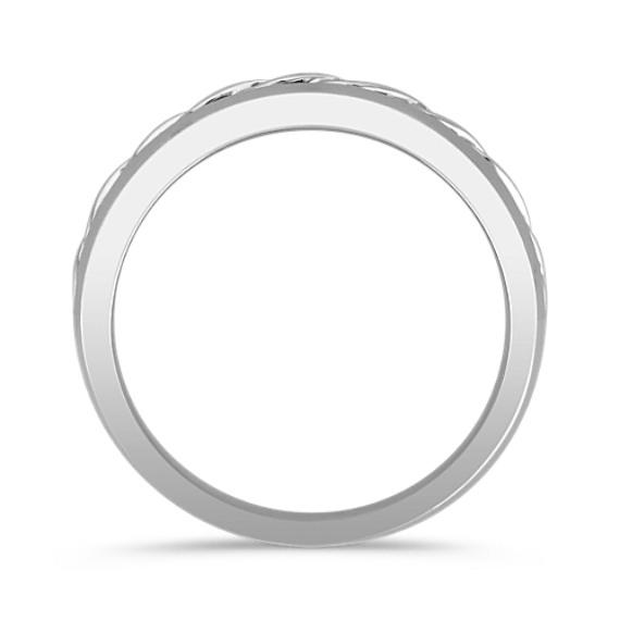 14k White Gold Ring (6.5mm)
