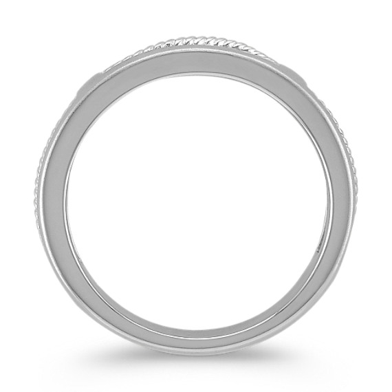14k White Gold Ring (6.5mm)